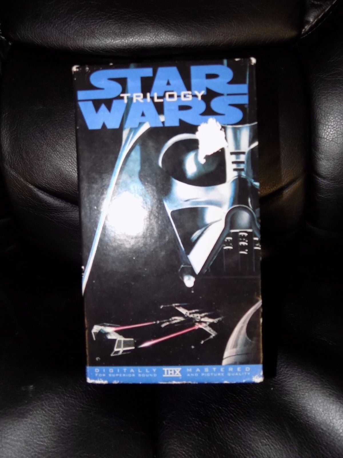 Primary image for Star Wars Trilogy (VHS, 1990, 3-Tape Set) EUC