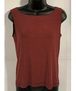 """Chico's Women's Top Size 1 Or Medium 17"""" arm put to arm put 21""""  shoulde... - $9.67"""