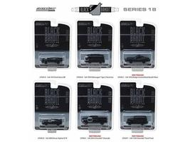 Black Bandit Series 18, 6pc Set 1:64 Diecast Models by Greenlight - $57.13