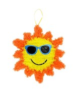 Decorative Hanging Summertime Tinsel Sun Ornament, 13.5x12 in. w - $5.99