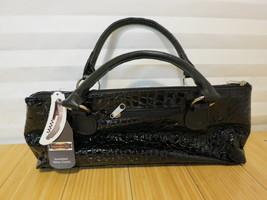 Primeware Black Croc Wine Clutch Insulated Bottle Tote Bag Handbag & Cor... - $18.55