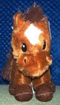 "Plush FARM ANIMAL Mini Horse  8""H Plush NWT - $6.88"