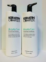 Keratin Complex Smoothing Keratin Care Shampoo & Conditioner 33.8oz LITER DUO - $54.95