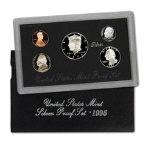1995-S 90% Silver Proof Set United States Mint Original Government Packa... - £46.71 GBP