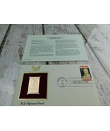 U.S. Supreme Court 22kt Golden Replica Stamp 1990 First Day Stamp  - $19.79