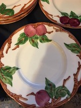 "Franciscan Apple ware small dessert or bread plates 6 1/4"" in diameter (... - $14.84"