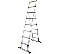 Telesteps 12ES 12' Climbing Height Combination Ladder 375lb. Max. Load - $289.80