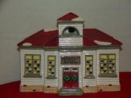 Dept. 56, The Original Snow Village, Jefferson School, Item #50822 -MINT... - $21.78
