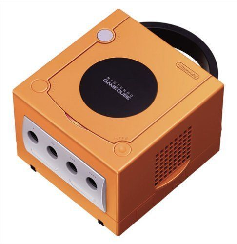 USED NINTENDO GAMECUBE CONSOLE Orange Japan RARE