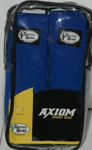 Cactus Gear Equine Equipment Large Hind Royal Blue Axiom Sport Boots Package 1