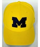 University Of Michigan Men's Nike Dri Fit Baseball Cap Hat Strapback Blu... - $26.54
