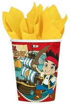 American Greetings Jake and the Never Land Pirates 9 oz. Paper Party Cup... - £8.35 GBP