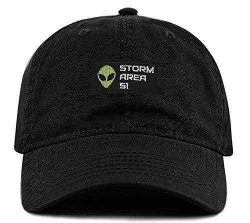 Storm Area 51 Hat - Adjustable Strapback Dad Cap UFO Aliens
