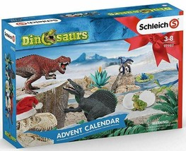 # Schleich DINOSAURS WORLD ADVENT CALENDAR VERY NICE 2019   97982<> - $33.85