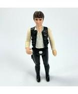 Kenner 1977 Star Wars Han Solo Big Head Variant Action Figure Hong Kong ... - $37.18