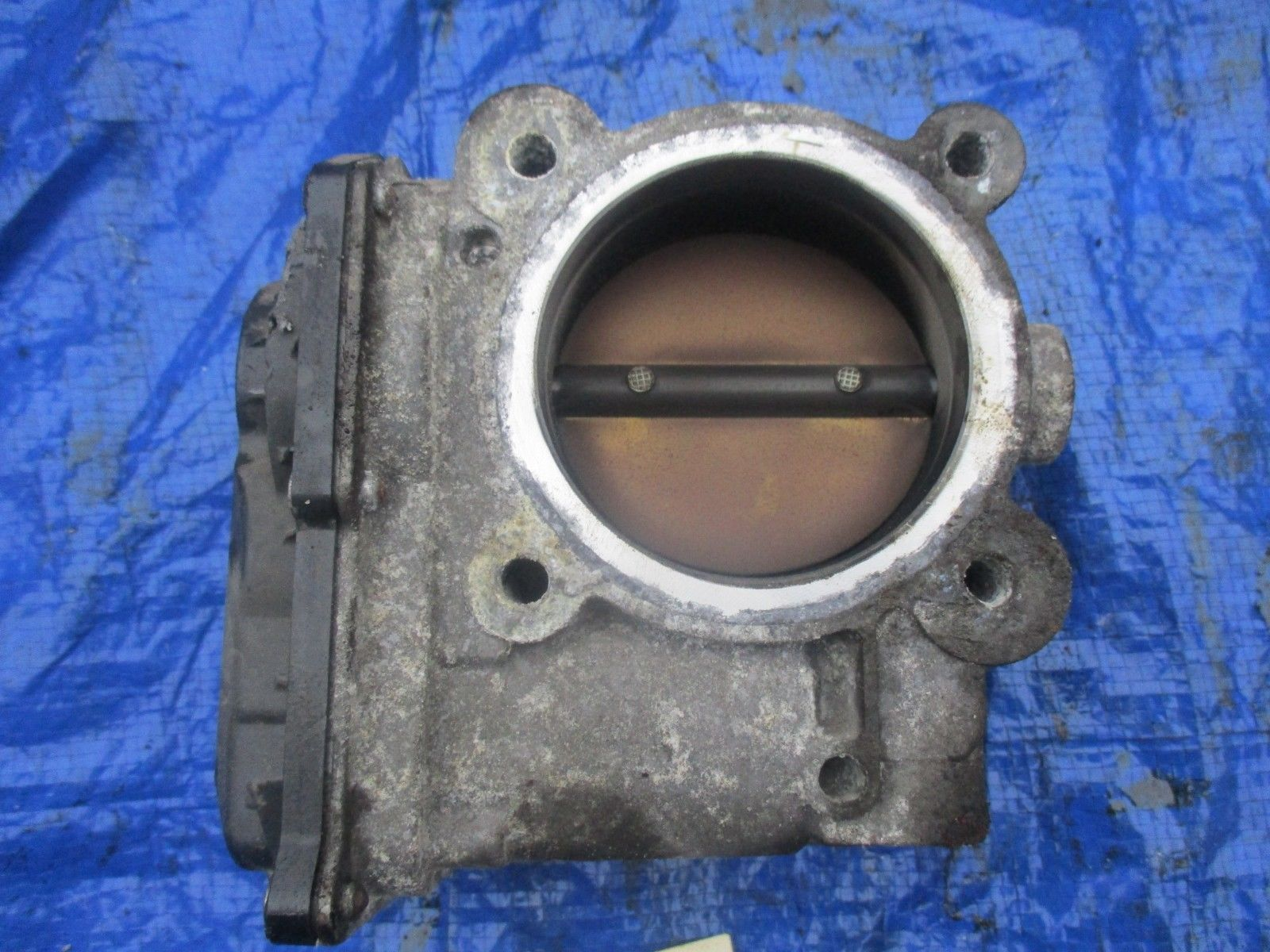 2008 Volvo XC70 3.2 electronic engine throttle body assembly 6G9N-9F991 AB