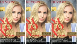 (Pack of 3) Revlon Salon Color #10 Lightest Natural Blonde Booster Kit - $29.69