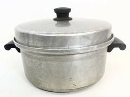Vintage Mirro Aluminum Stock Pot w/Lid - $24.74