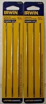"""Irwin 2014500 6-1/2"""" Coping Saw Replacement Blades Coarse Cut 2-3 Pc Pack - $5.45"""