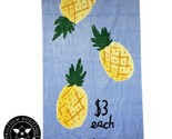 Kate Spade New York Beach Towel Blue Pineapples 40 Inches × 70 Inches Cotton NWT - $1.660,14 MXN