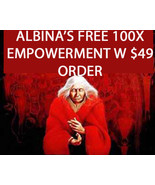 FREE! ALBINA WILL PERFORM A 100X EMPOWERMENT BLESSING W $49 ORDER MAGICK... - $0.00
