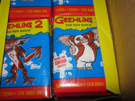 Gremlins 2 ..... Lot Of 4 Wax Boxes 1990 Topps Non Sports 36 Pack Boxes - $120.00