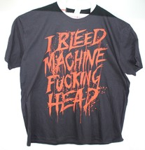 Machine Head I Bleed To The Death Hommes Noir T-Shirt Neuf Taille 3XL - $17.56