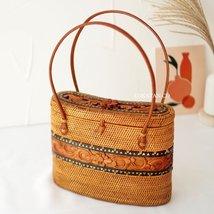 Neget Rattan Bag - $54.00