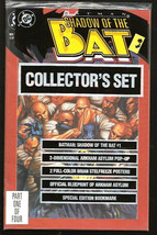 SHADOW OF THE BAT COLLECTOR's SET part 1 still sealed in publisher's bag... - $12.89