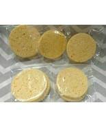 5 Compressed Natural Cellulose FACIAL SPONGES Face Cleanser Makeup Appli... - $6.91