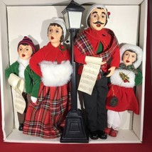 Brinn`s Vintage Christmas Carolers 1986 Full Set Four Figures  - $233.75