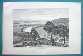 SCOTLAND Caledonian Canal - 1890s Antique Print - $11.25