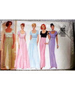 Butterick 4824 Vintage Gowns Dresses Formals Pattern Multi Size 8 10 12 - $11.00