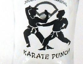 Karate Punch Shiki Japanese Steak House Cocktail Souvenir Glass Anchor H... - $14.99