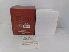 Lenox 2011 A Cozy Cup Of Cocoa Teddy Bear Christmas Ornament Unopened - $33.66