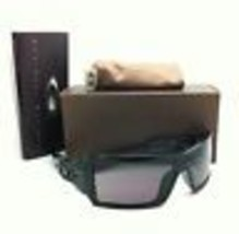 New Oakley Sunglasses OIL RIG OO9081 03-460 Shiny Black Frames with Grey Lenses - $149.95
