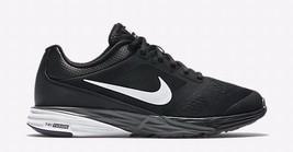 NIKE TRI FUSHION RUN WOMEN'S BLACK/WHITE RUNNING SHOES sz 6, #749176-007 - $52.91