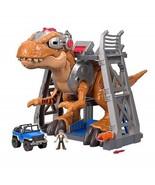 Fisher-Price Imaginext Jurassic World T-Rex Dinosaur Toddler Toys Games Kids - $126.22