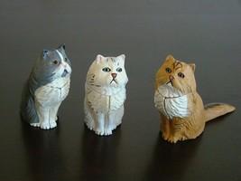 3 Japan Kaiyodo Furuta New Choco Egg Animal Pet Miniatures Puzzle Persia... - $14.73