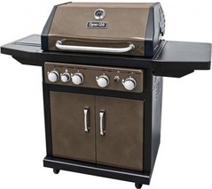 Dyna-Glo DGA480BSP 4-Burner Bronze LP Gas Grill - $400.92