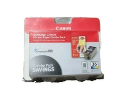 Ink/Paper ComboPack 36 ColorInk Cartridge Canon Pixma/Mini260 ChromeLife... - $21.13
