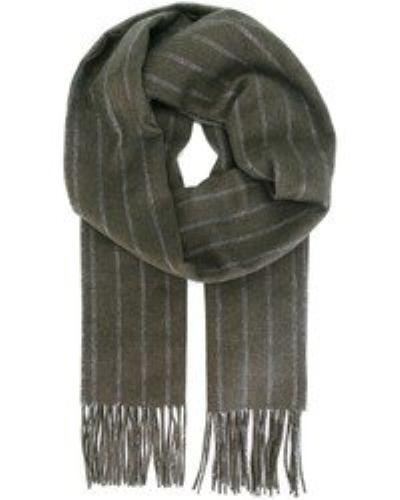 Salvatore Ferragamo  Men's Herringsbone Striped Scarf  MSRP: $350.00