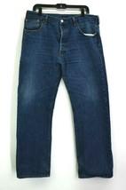 Levis 501 Men Size 38 Jeans Relaxed Comfort Fit Denim Pants Deep Pockets  - $24.99