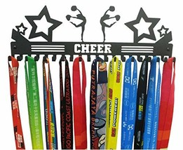 URBN Cheer Sports Medal Holder Display Rack Ribbon Hanger with 20 Hooks
