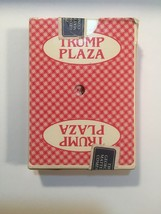 President Trump Plaza Casino playing cards deck Gemaco Atlantic City  - $8.54