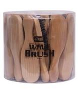 Annie Mini Wave Brush Hard Bristle 50% Light Brown White Boar & Nylon #2... - $59.95