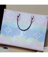 Louis Vuitton Monogram Escale ONTHEGO tote Pastel Tie Dye bag on the go - $4,930.20