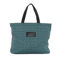 Marc Jacobs Diamond Printed Shopping Tote Bag (Dark Green) - ₨7,118.43 INR