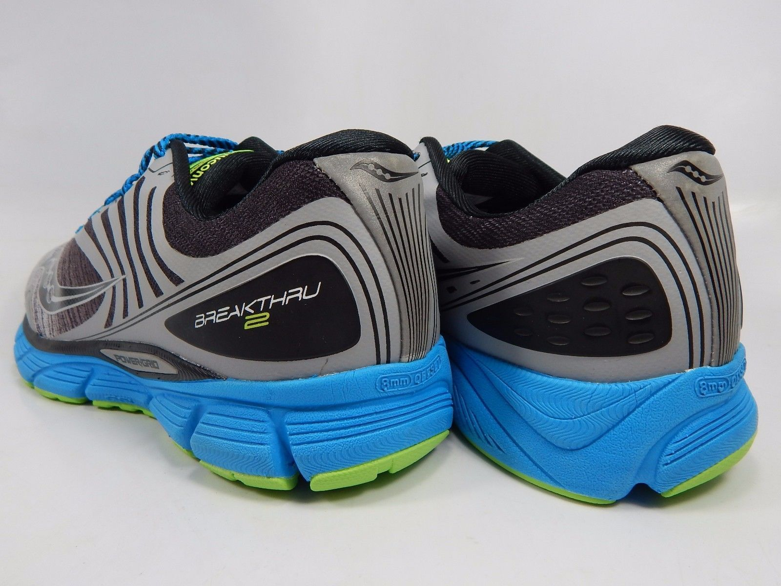 Saucony Breakthru 2 Men's Running Shoes Size US 9 M (D) EU 42.5 Silver S20304-3
