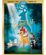 Bambi II Starring Patrick Stewart Disney Blu-ray + DVD + Digital HD NEW - $10.53
